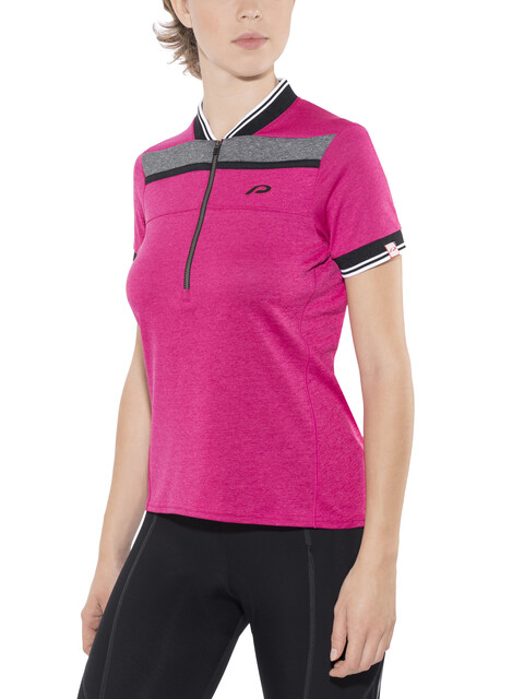 Protective Glenore - Maillot manches courtes Femme - gris/rose